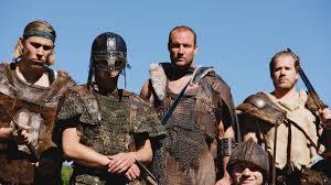 attacking vikings